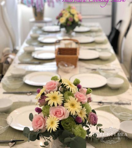 【金曜・第2週・昼】もてなし料理とテーブルセッティング