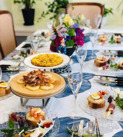 【火曜・第4週・夜】もてなし料理とテーブルセッティング